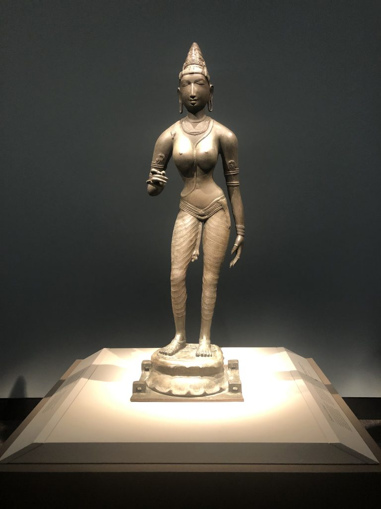 Display photo of statue